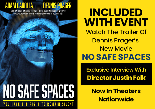 No Safe Spaces - In Theaters Now!